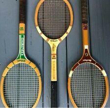 Vintage Flight Master and Wilson Tennis Racket Lot