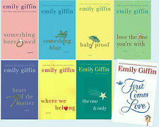 EMILY GIFFIN Collection Set of 8! Rachel & Darcy First Comes Love BRAND NEW! 1-8
