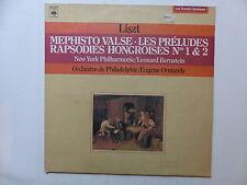 LISZT Mephisto valse , les préludes dir BERNSTEIN et ORMANDY 42213