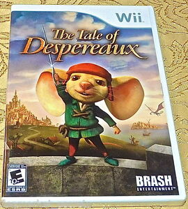 Tale of Despereaux NES Nintendo Wii SYSTEM GAME SEALED SEE OUR STORE