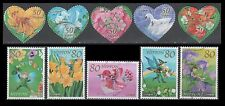 Japan 3303 a-e + 3304 a-e Greeting Stamps, Issued 2011 (10 USED Stamps)