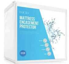 Bed Bug and Waterproof Cotton Blend KING Encasement Mattress Protector by LUCID