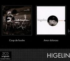 JACQUES HIGELIN - COUP DE FOUDRE/AMOR DOLOROSO USED - VERY GOOD CD