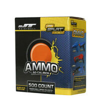 Splatmaster Ammo 2000 Count (4 boxes / 500 count each) - Orange w/ Yellow Fill