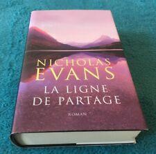 La ligne de partage par Nicholas EVANS - LIVRE NEUF