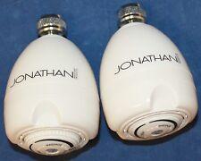 LOT 2 NEW EARTH A112.18.1 JOHNATHAN PRODUCT ADJUSTABLE MASSAGE SPRAY SHOWERHEAD