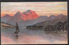 Scotland Postcard - Loch Leven - Scottish Lochs & Glens   RS3858