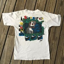Vtg Speedo T Shirt Off The Deep End Graphic 1991 Fish Face Single Stitch Size M