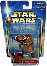 Star Wars Mace Windu Geonosian Rescue Action Figure MIB AOTC Attack of Clones