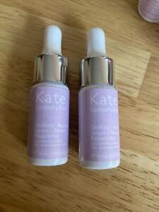 2X Kate Somerville DELIKATE Recovery Serum Stressed Skin Saver 10ml .33oz NWOB