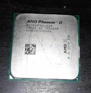 AMD Phenom II X4 955 Black Edition; AM3; 3,2 GHz; (HDZ955FBK4DGM); Versandfrei