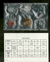 1993 Uncirculated Coin Proof Like Set ~ Canadian Coins PL set