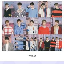 [Official] WANNAONE LENS NINE Puzzle Photocards VER.2 FULL SET 15pcs