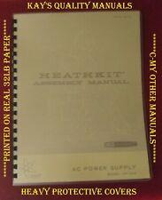 Heathkit HP-23A Montaje Completo & manual de operación 😊 C-mis otros manuales 😊