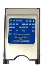 Digigear compact flash CF to PCMCIA PC card adapter for ATA flash UDMA memory