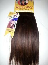 "100% HUMAN HAIR YAKY WEAVE 10""#TP4/30;STRAIGHT;WORLD'S FINEST HAIR;MILKY WAY;"