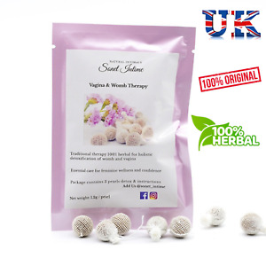 Yoni Detox Pearl Women Wellness Vagina Clean Moisture 100% Organic Herbal X3