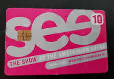 Amsterdam Arena Card 2005 10 Euro See the show at the Amsterdam Arena