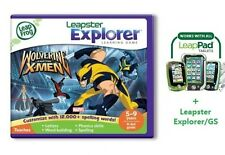 LeapFrog LeapPad Wolverine & The Xmen Spelling Game 4 ALL Leap Pad + Leapster GS