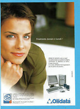 BELLEU002-PUBBLICITA'/ADVERTISING-2002- OLIDATA OFFICE PC
