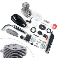 100CC 2-Stroke Motorized Bike Engine Kit Complete Petrol Gas Motor Engine Set