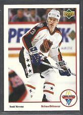 fd0183a114e 1991-92 Upper Deck McDonald's NHL All-Stars - #24 - Scott Stevens
