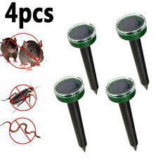 Garden Yard Ultrasonic Solar Powered Snake Mouse Pest Repeller