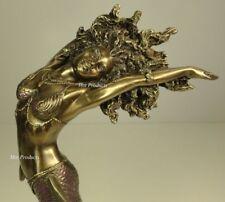 ORISHA YEMAYA OCEAN GODDESS Yoruba African Statue Sculpture Bronze Finish