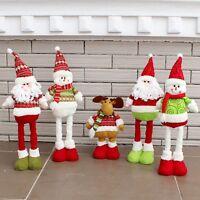 Santa Claus Snowman Christmas Ornament Xmas Tree Table Decor Festival Party Gift