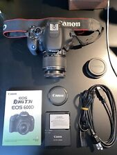 canon eos rebel t3i 600D dslr camera + 18-55mm lens