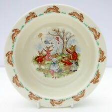 Vintage Royal Doulton Fine Bone China Bunnykins Nursery Dish Bowl