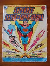 Superboy and the Legion of Super-Heroes - DC Treasury C-49 1976 Ltd. Collector's