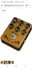 JOYO JF-14 American Sound Vintage Deluxe Amp Emulating Overdrive Guitar Effects