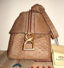"K. Kiechel  Pyramid-Shaped Pouch Purse ""Collectioneuse"" RARE ITEM NWT 2012 Sprin"