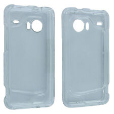 Clear Snap-On Hard Case Cover for HTC Droid Incredible 6300