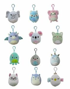 """SQUISHMALLOWS 3.5"""" Clip-Ons Assortment"""