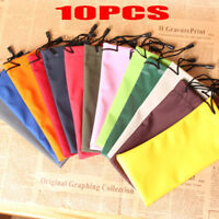 10X Sunglasses Bag Waterproof Soft Cloth Glasses Pouch Sunglasses Cases CF7Z