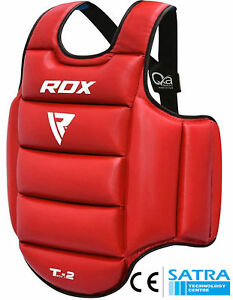 RDX Boxing Protector Chest Guard MMA Body Armour Training Kickboxing Sports AU