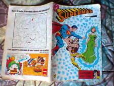 SUPERMAN CENISIO 94 1983 RARISSIMO SPILLATO FORMATO ALBETTO FINE SERIE, ALTRI