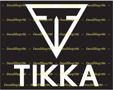 Tikka Firearms - Outdoor Sports / Hunting - Vinyl Die-Cut Peel N' Stick Decals