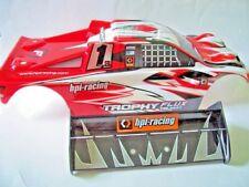 HPI Trophy Flux Truggy Karosse/Spoiler - 101808 - Neu