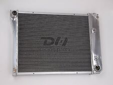 Polish 3 Rows Aluminum Radiator FOR 1968-1974 Chevy Nova/1970-1981 Chevy Camaro