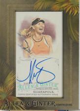 Maria Sharapova 2016 Topps Allen & Ginter's autograph auto card AGA-MSH