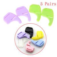 5 Pairs Kids Silicone Ear Grip Holder Eyeglass Glasses Sunglass Anti Slip Ho.kn