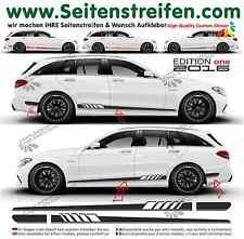 Mercedes Benz C Klasse S205 - 507 / Edition 1 Seitenstreifen Aufkleber Set 2016