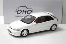 1:18 OTTO Honda Civic Type R EK9 white 1999 NEW bei PREMIUM-MODELCARS