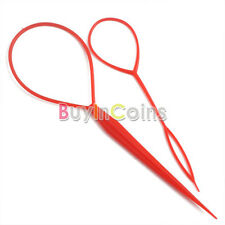 Hot 2pcs Topsy Tail Hair Braid Ponytail Maker Styling Tool BDCA