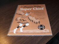 ATSF SANTA FE ADVERTISING: PLEASURE DOME OF THE SUPER CHIEF
