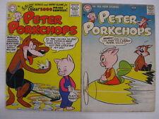 PETER PORKCHOPS #46 FN- 47 VG 48 FN- 49 FN- Sheldon Mayer in all! Scarce!