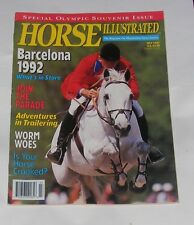 HORSE ILLUSTRATED JULY 1992 - BARCELONA 1992 SPECIAL OLYMPIC SOUVENIR ISSUE